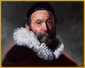 Rembrandtesque Portret Uyttenboogaart