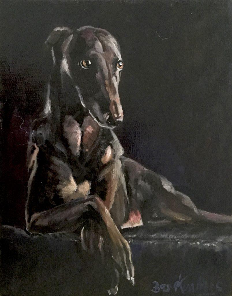 Bas Konings-Hondenportret