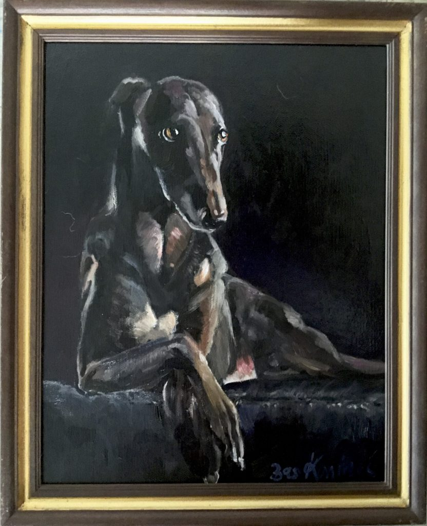 Bas Konings. Hondenportret