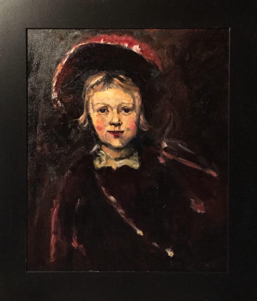 171220_Bas Konings-Rembrandtesk Kinderportret 50x60