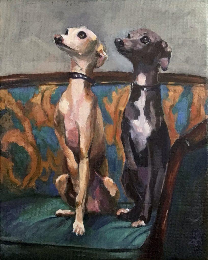 170621_Bas Konings-2 hondjes op de bank