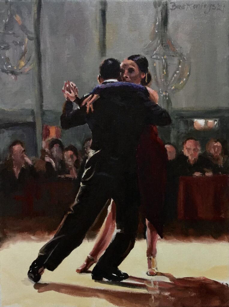 120821_Bas Konings-Tango Buenos Aires 30 x 40 cm