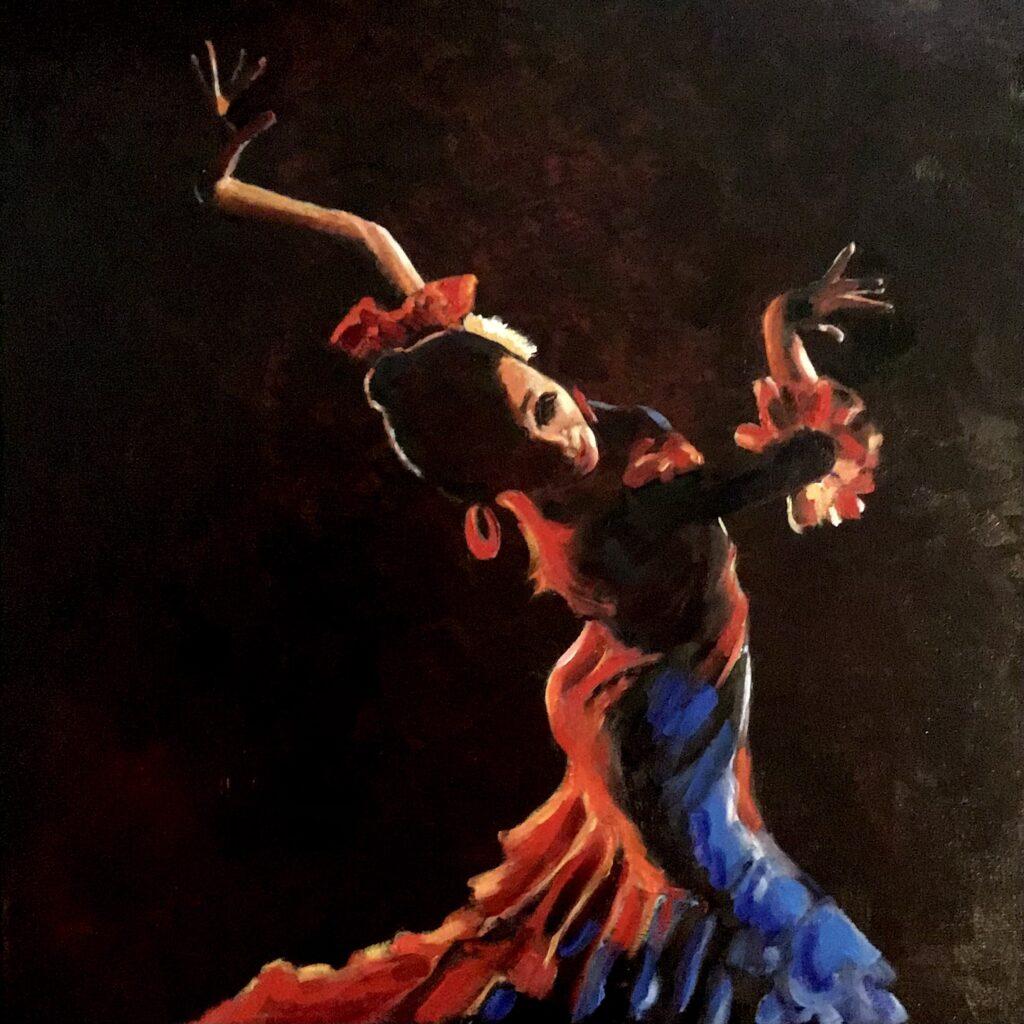 241021_Bas Konings-Flamenco 50x50